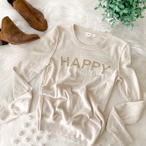 Gap 'Happy' Sweater